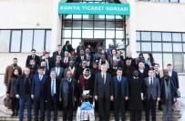 ÖZEL SEKTÖR - Afrika Büyükelçileri Konya Ticaret Borsası'nı Ziyaret Etti