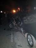 Bartın'da Trafik Kazası 2 Yaralı