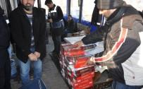 KAÇAK - Bavullardan Kaçak Sigara Çıktı
