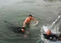 YÜZME - Bir Haftada Boğulma Tehlikesi Geçiren 2 Kişiyi Kurtardı
