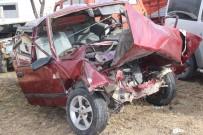 PAMUKKALE ÜNIVERSITESI - Denizli'de Feci Kaza Açıklaması 3 Ölü, 5 Yaralı
