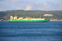 ÇANAKKALE BOĞAZı - Doğalgaz Tankeri Çanakkale Boğazı'nı Kapattı