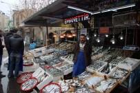 ALIM GÜCÜ - Kar Ve Soğuk Hava Balık Fiyatlarını Yüzde 15 Attırdı