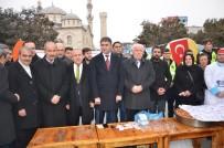ŞEHİT POLİS - Malatya Ülkü Ocakları Lokma Dağıttı