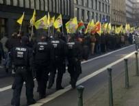 TÜRK BİRLİĞİ - Osmanlı sancağına yasak, PKK'ya kalkan oldular!
