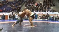 RECEP KARA - Recep Kara, Asya Sumo Şampiyonu'nu Tuş Etti