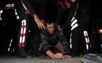 Samsun'da Bıçaklı Kavga Açıklaması 1 Yaralı