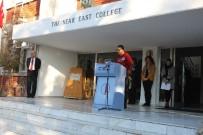 SAYGI DURUŞU - Yakın Doğu Kolejinde, Kurucu Cumhurbaşkanı Rauf Raif Denktaş Anıldı