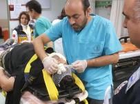3. Kattan Düşen İnşaat İşçisi Ağır Yaralandı