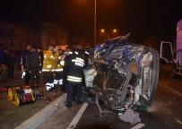 Bafra'da Trafik Kazası Açıklaması 1 Ölü, 1 Yaralı