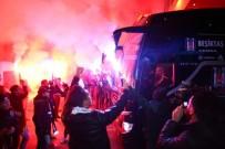 SPOR TOTO - Beşiktaş'a Ankara'da Coşkulu Karşılama