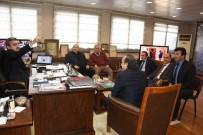 HAKEM KURULU - Bölgesel Hakem Kurulu Üyeleri Başkan Alıcık'ı Ziyaret Etti