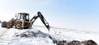 Erzurum'da Kar Kütlelerinin Erimesi Buzlanmalara Neden Oluyor
