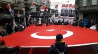 İSTİKLAL CADDESİ - İstiklal Caddesi'nde Teröre Tepki Yürüyüşü