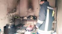 İşyerinde Çıkan Yangın Söndürüldü