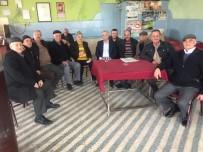 Kahvehanede Vatandaşların Sorun Ve Taleplerini Dinledi