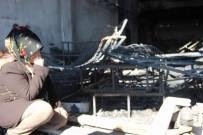 ERCIYES - İşçi Fabrikayı Ateşe Verdi, Ortaklar Ağladı