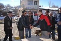 GEÇMİŞ OLSUN - Şenkaya Kaymakamı Dereci Mahalle Ziyaretlerine Başladı