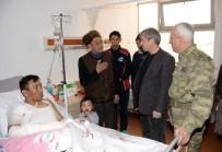 KOMANDO - Vali Çınar'dan Yaralı Askerlere Ziyaret