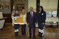 SAĞLIK ÇALIŞANLARI - 112 Sağlık Çalışanları Başkan Baran'ı Ziyaret Etti