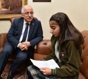 12 Yaşındaki Sedef'ten Suriyeli Çocuklara Duygu Dolu Mektup