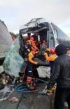 GİZLİ BUZLANMA - Afyonkarahisar'da Zincirleme Trafik Kazası (Yaralıların isimleri)