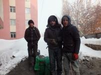 Ailelerine Yardım İçin Çöplüklerden Yanmamış Kömürleri Topluyorlar