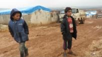 YAŞAM MÜCADELESİ - Atme Kampında Yaşam Mücadelesi