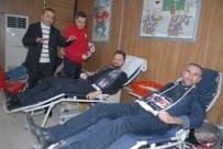 AFYONKARAHISAR - Beşiktaşlılar Kan Bağışında Bulundu