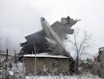 UÇAK KAZASI - Bişkek'te kargo uçağı düştü