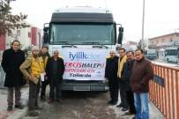 ÖNCÜPINAR - Erciş'ten Suriye'ye Yardımlar Devam Ediyor