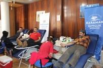 GENÇLİK MERKEZİ - Gençlik Merkezi Üyelerinden Kan Bağışı