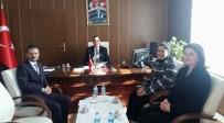 DEVLET HASTANESİ - Hastane Yöneticilerinden, Kaymakam Kılınç'a Ziyaret