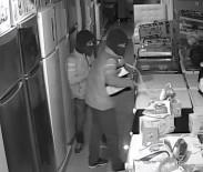 HIRSIZLIK BÜRO AMİRLİĞİ - Hırsızlar Güvenlik Kameralarına Takıldı