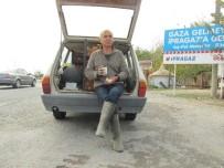 POLİS İMDAT - Kahraman Çiftçi Yorgunluk Kahvesini Polisin Elinden İçti