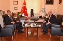 Kaymakamı Yurt'tan, Başkan Eşkinat'a İade-İ Ziyaret