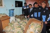 SURİYE - Kozan'da Kaçak Ekmek Ve Tatlı Operasyonu