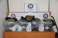 KAÇAK SİGARA - Mersin Polisi, 191 Kilogram Esrar Ele Geçirdi