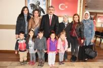 Minikler Başkan Amcalarını Ziyaret Etti