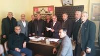 AHMET AYDIN - Muhtarlar Ahmet Aydın İçin Açıklama Yaptı