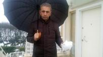 SARIYER - İstanbul'da Akılalmaz Olay, Gökten Buz Kütlesi Düştü