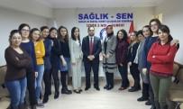 EĞITIM BIR SEN - Sağlık Sen İzmir 2 Nolu Şube Kadın Kolları Komisyonu Oluşturuldu