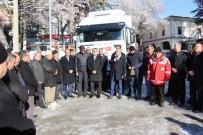 BELEDİYE BAŞKANLIĞI - Şaphane İlçesinden Toplanan 1 TIR Yardım Malzemesi Halep'e Gönderildi