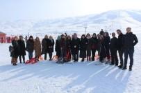 Sınav Yorgunluğunu Kayak Merkezinde Attılar