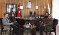 ATATÜRK ÜNIVERSITESI - Türk Kadınlar Birliği Erzurum Şubesi, Rektör Çomaklı'yı Ziyaret Etti