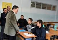 Tütüncü, Anadolu İmam Hatip Lisesi'ni Ziyaret Etti