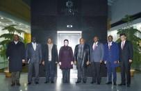 GÖNÜL KÖPRÜSÜ - Afrika Büyükelçilerinden Başkan Toru'ya Ziyaret