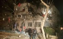 TAPU KADASTRO - Ankara'da Doğalgaz Patlaması Açıklaması 3 Yaralı
