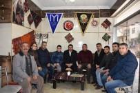SİVİL TOPLUM - Başkan Çelik'ten Yörük Türkmen Derneği'ne Ziyaret