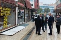 GEÇMİŞ OLSUN - Başkan Uysal'dan Esnafa 'Geçmiş Olsun' Ziyareti